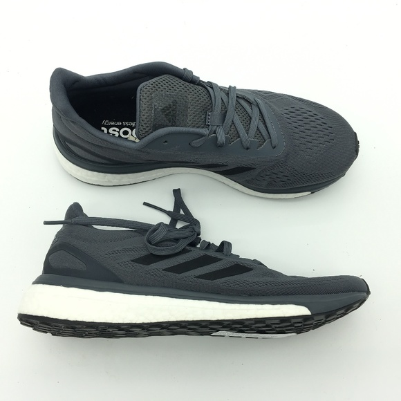 af0e443af615 Adidas Black Response Boost LT Mens Running Shoes